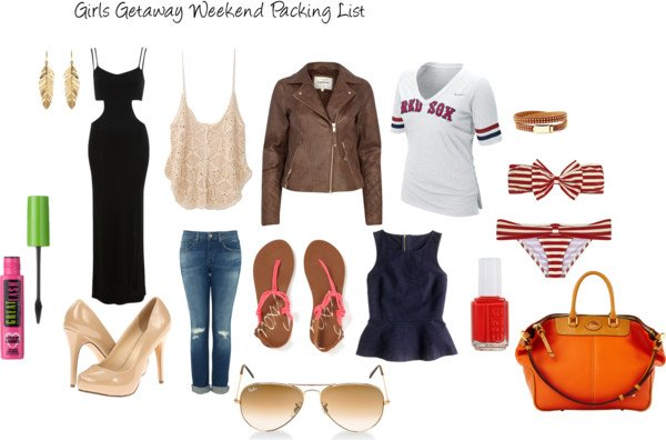 what to bring- packing guide for girls weekend