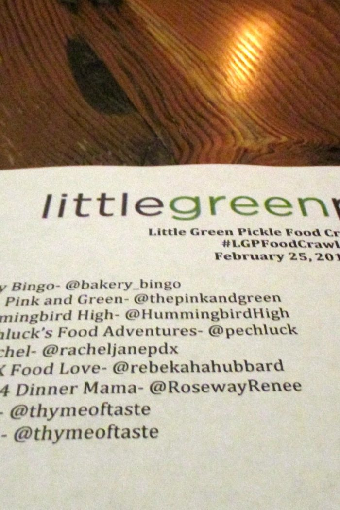 Little Green Pickle Blogger Food Crawl