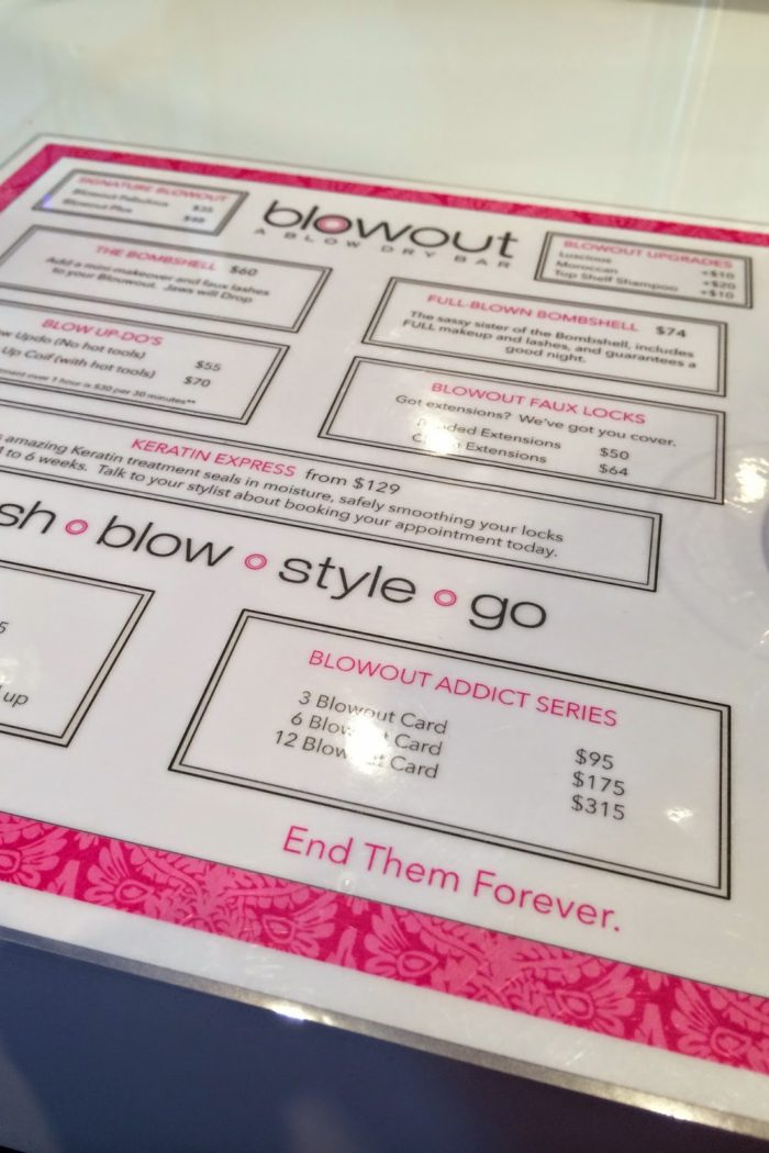 Review: Blowout- A Blow Dry Bar