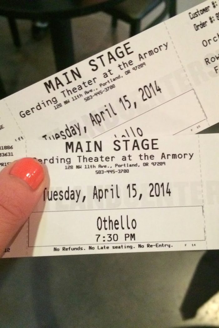Portland Center Stage: Othello