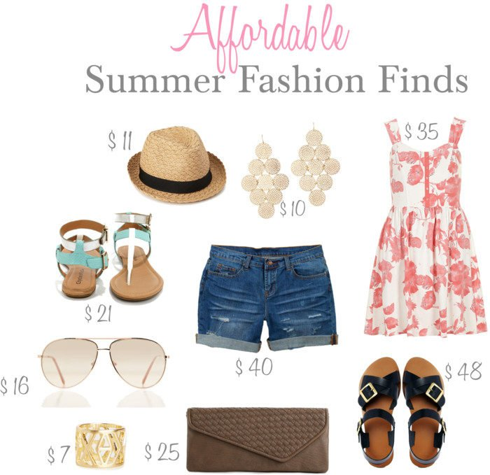Affordable Summer Fashion Finds