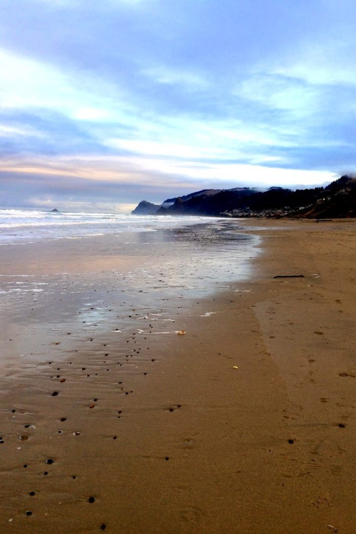 New Year: New Beach Trip (Lincoln City, OR)