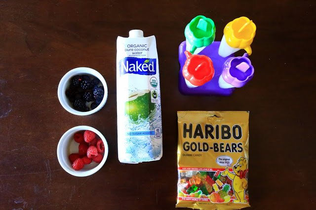 Coconut Water Popsicles: Sponsored by Naked Juice