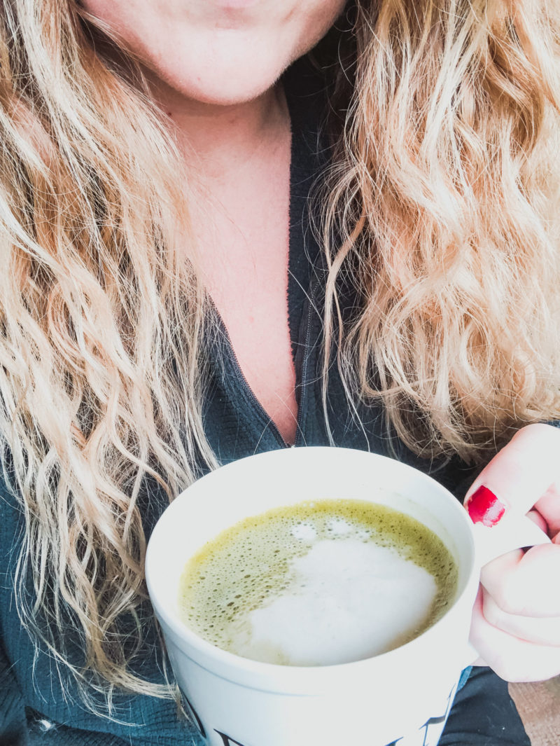 matcha latte portland blogger